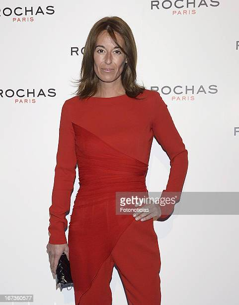 Monica Martin Luque attends 'Tribut to Freshness and Rochas Women' event at the French embassy on April 24 2013 in Madrid Spain