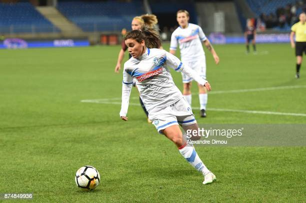 Monica Mendes of Brescia during the UEFA women's Champions League match Round of 16 second leg between Montpellier and Brescia on November 15 2017 in...