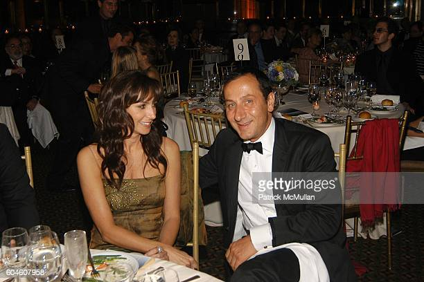 Monica Mitro and Gilles Mendell attend 11th Annual CARON FOUNDATION GALA honoring John Sykes at Cipriani 42nd St on June 13 2006 in New York City