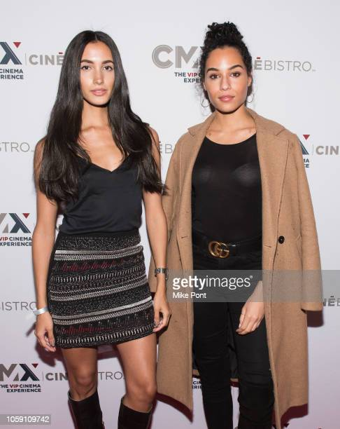 "Monica Montano and Olay Noel attend the opening of CMX CineBistro with special screenings of ""BlacKkKlansman"", ""City Lights"" & ""Pretty Baby"" at CMX..."