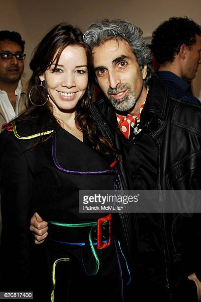Monica Moss and David Raymond attend Private Viewing of Merce My Way By Mikhail Baryshnikov at 401 Projects on March 15 2008 in New York City