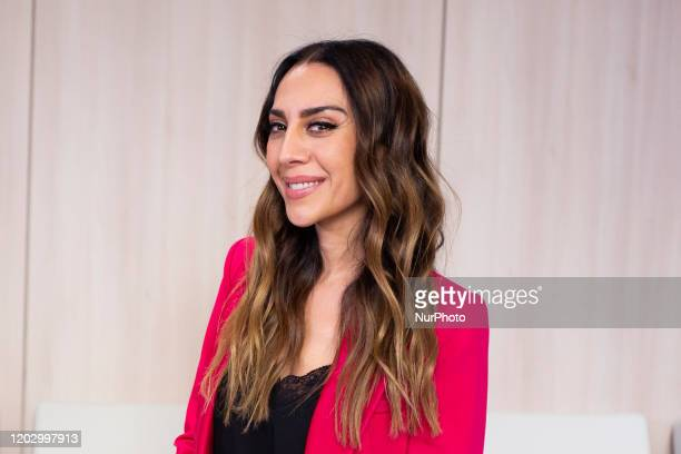 Monica Naranjo attend the delivery of the Propolis Voice Awards in Madrid Spain on February 24 2020