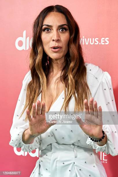 Monica Naranjo attends 24th Cadena Dial awards press conference at Cadena Dial on February 07 2020 in Madrid Spain