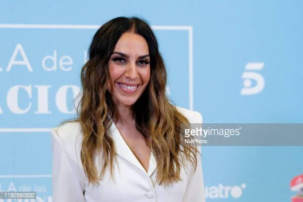 Monica Naranjo attends 'La isla de las tentaciones' Tv show presentation on January 8 2020 in Madrid Spain