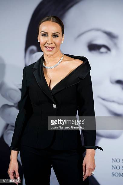 Monica Naranjo attends 'Monica Naranjo eau de Parfum' presentation at Ritz Hotel on November 10 2016 in Madrid Spain