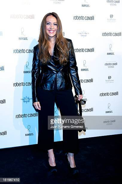Monica Naranjo attends Roberto Cavalli Boutique on September 13 2012 in Madrid Spain