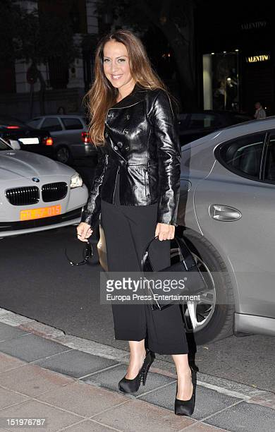 Monica Naranjo attends Roberto Cavalli Boutique Opening on September 13 2012 in Madrid Spain