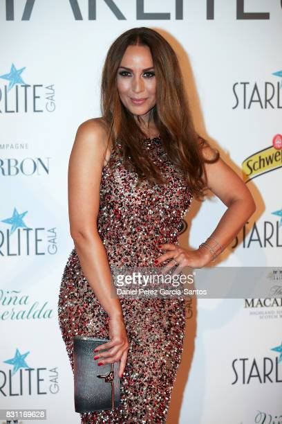 Monica Naranjo attends Starlite Gala on August 13 2017 in Marbella Spain