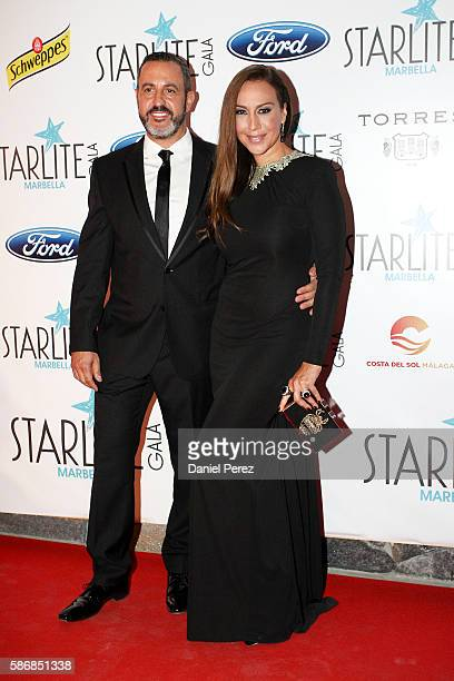 Monica Naranjo attends Starlite Gala on August 6 2016 in Marbella Spain