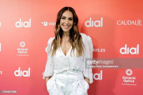 Monica Naranjo attends the Cadena Dial Awards 2020 press conference on February 07 2020 in Madrid Spain