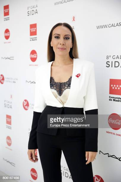 Monica Naranjo attends the presentation of the Gala Against Aids on July 3 2017 in Madrid Spain