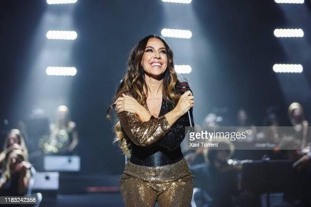 Monica Naranjo performs in concert at Palau Sant Jordi during the Festival Mil·lenni on October 24 2019 in Barcelona Spain