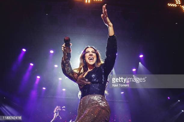 Monica Naranjo performs in concert at Palau Sant Jordi during the Festival Mil·lenni on October 24 2019 in Barcelona Spain