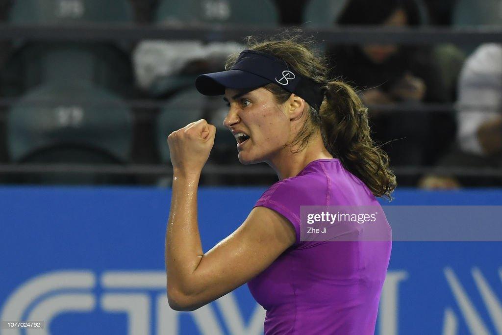 2019 WTA Shenzhen Open - Main Draw Day 6 : News Photo