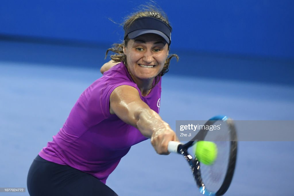 2019 WTA Shenzhen Open - Main Draw Day 6 : News Photo