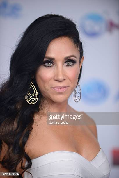 Monica Noguera arrives at Telemundo's Premios Tu Mundo Awards 2014 at American Airlines Arena on August 21 2014 in Miami Florida