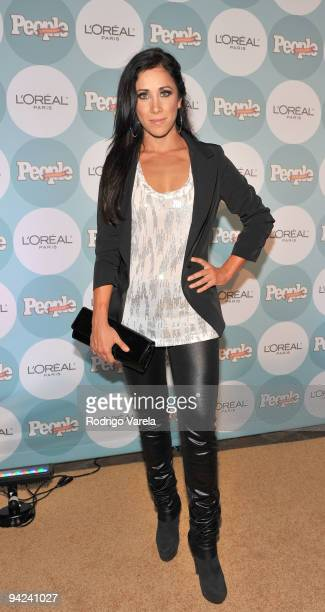 Monica Noguera arrives at the 2009 Premios People En Espanol event at Club 50 at Viceroy Miami on December 9 2009 in Miami Florida