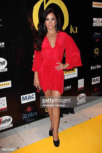 Monica Noguera attends the Yellow Nights event to benefit the Lance Armstrong Foundation on December 16 2009 in Miami Florida