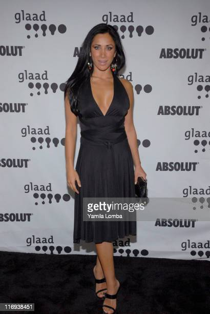Monica Noguera during 17th Annual GLAAD Media Awards at The Ritz Carlton Hotel South Beach in Miami Beach Florida United States