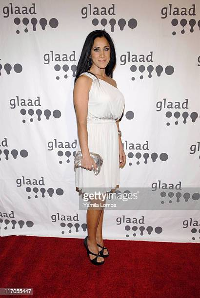 Monica Noguera during 18TH ANNUAL GLAAD MEDIA AWARDS Miami at JW Marriott in Miami Florida United States