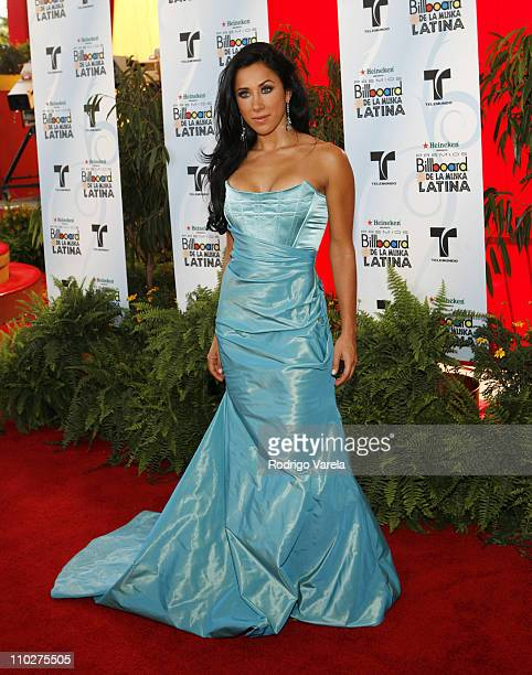 Monica Noguera during 2006 Billboard Latin Music Conference and Awards Arrivals at Seminole Hard Rock Hotel and Casino in Hollywood Florida United...