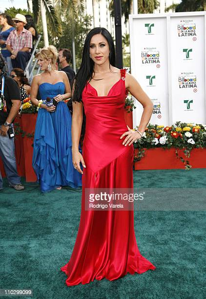 Monica Noguera during Billboard Latin Music Conference and Awards 2007 Arrivals at Bank United Center in Coral Gables Florida United States