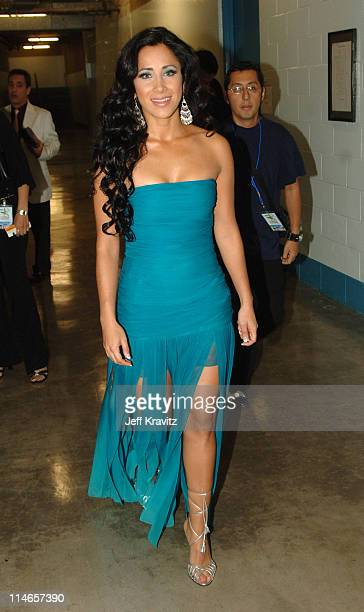 Monica Noguera during El Premio de la Gente Latin Music Fan Awards 2005 Backstage and Audience at The Forum in Los Angeles California United States