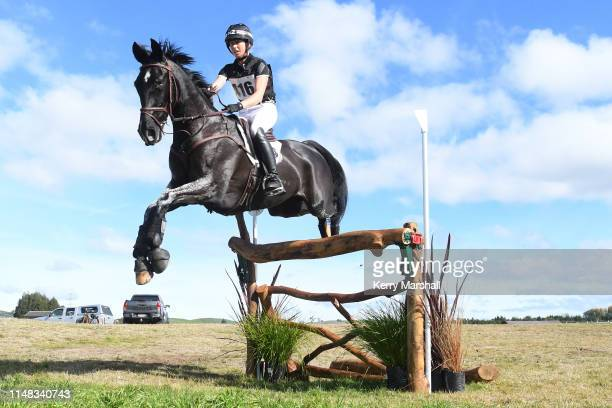 Monica Oakley rides Acrobat in the CCI4* during the National Three Day Event Championships on May 11 2019 in Taupo New Zealand