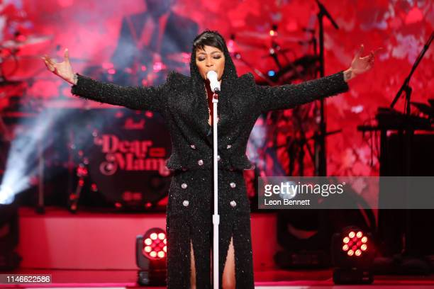 Monica performs during VH1's Annual Dear Mama A Love Letter To Mom at The Theatre at Ace Hotel on May 02 2019 in Los Angeles California