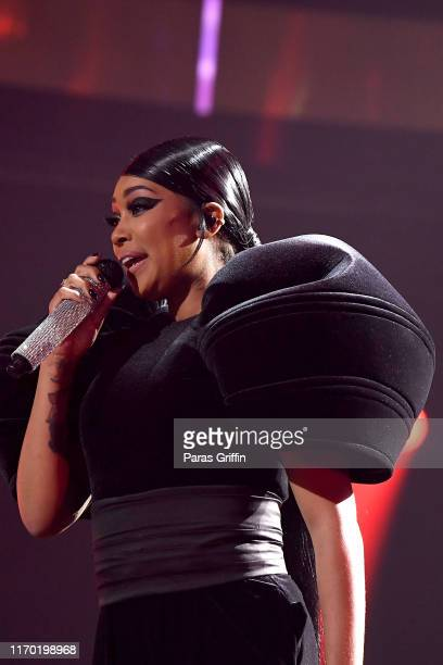 Monica performs onstage at Black Girls Rock 2019 Hosted By Niecy Nash at NJPAC on August 25 2019 in Newark New Jersey