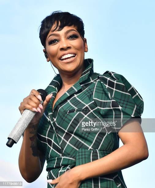 Monica performs onstage during AIDS Walk Atlanta Music Festival at Piedmont Park on September 29 2019 in Atlanta Georgia