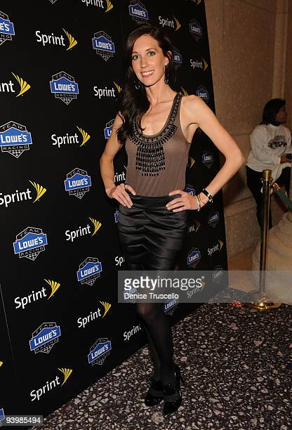Monica Polumbo arrives the NASCAR SPRINT Cup party at Lavo at the Palazzo on December 4 2009 in Las Vegas Nevada