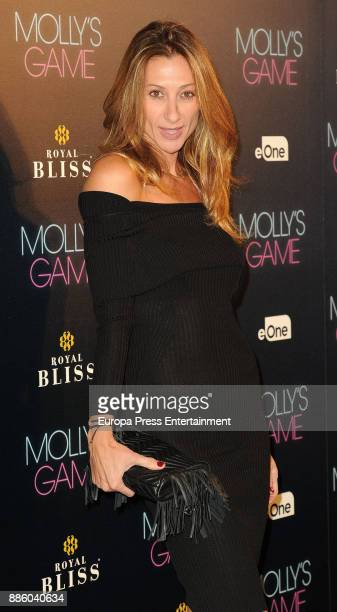 Monica Pont attends 'Molly's Game' Madrid premiere on December 4 2017 in Madrid Spain