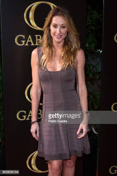 Monica Pont attends the Julio Iglesias Jr 45th birthday party at Gabana Club on February 19 2018 in Madrid Spain