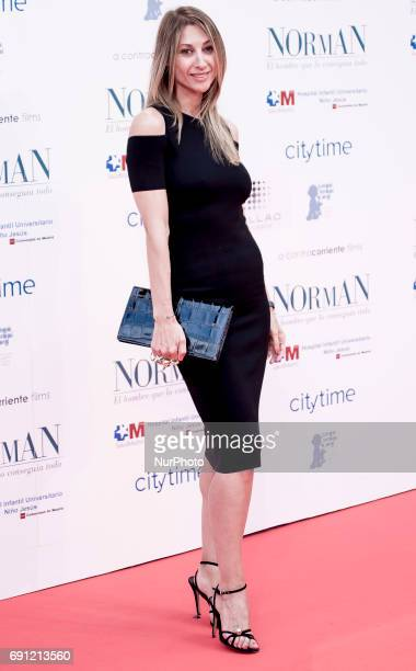 Monica Pont attends the 'Norman The Moderate Rise and Tragic Fall of a New York Fixer' premiere at the Callao cinema on May 31 2017 in Madrid Spain