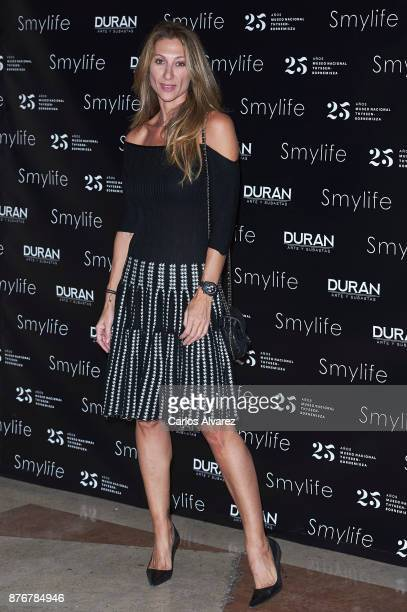 Monica Pont attends the 'Smylife Collection Beauty Art III' presentation at the ThyssenBornemisza Museum on November 20 2017 in Madrid Spain