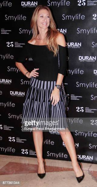 Monica Pont attends the Smylife Collection Beauty Art III presentation at the ThyssenBornemisza Museum on November 20 2017 in Madrid Spain