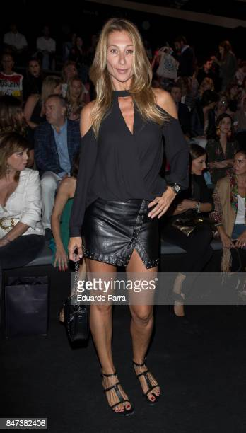 Monica Pont attends the Ulises Merida catwalk at Ifema on September 15 2017 in Madrid Spain
