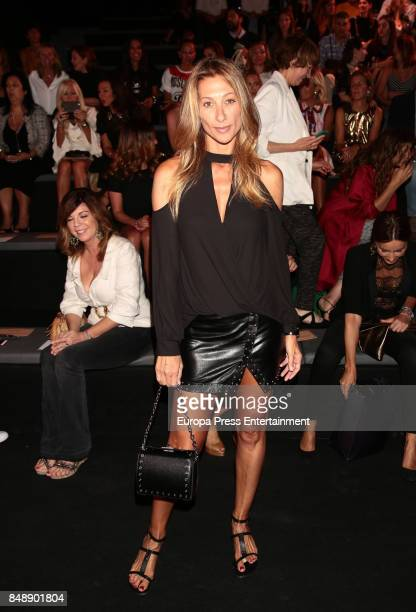 Monica Pont is seen during MercedesBenz Fashion Week Madrid Spring/Summer 2018 at Ifema on September 15 2017 in Madrid Spain