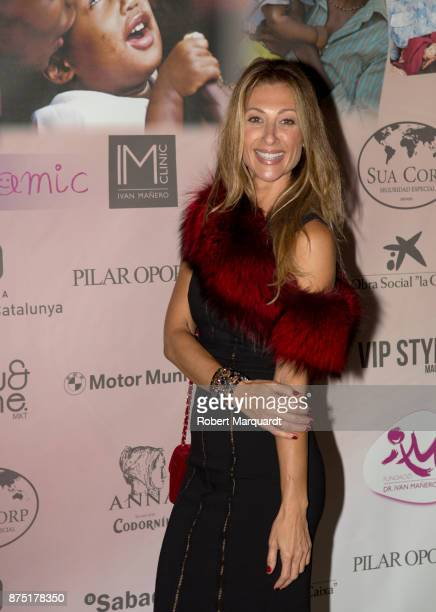 Monica Pont poses during a photocall for the 'Apuesta Por Ellas' charity event on November 16 2017 in Sant Cugat del Valles Spain