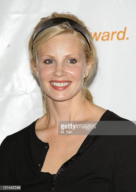 Monica Potter during 3rd Annual Los Angeles Gala for the Christopher and Dana Reeve Foundation at Century Plaza Hotel in Century City, California,...
