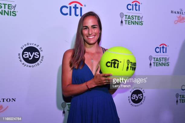 Monica Puig appears at Citi Taste Of Tennis DC at The Hamilton on July 29, 2019 in Washington, DC.