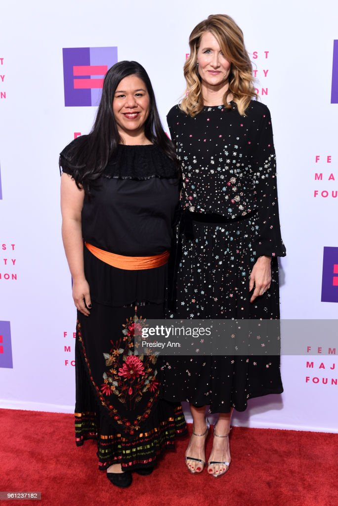 Monica Ramirez and Laura Dern attend 13th Annual Global Women's Rights Awards at Wallis Annenberg Center for the Performing Arts on May 21, 2018 in Beverly Hills, California.