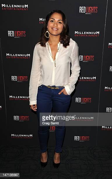 Monica Raymond attends the Red Lights New York Screening at Sunshine Landmark on June 25 2012 in New York City