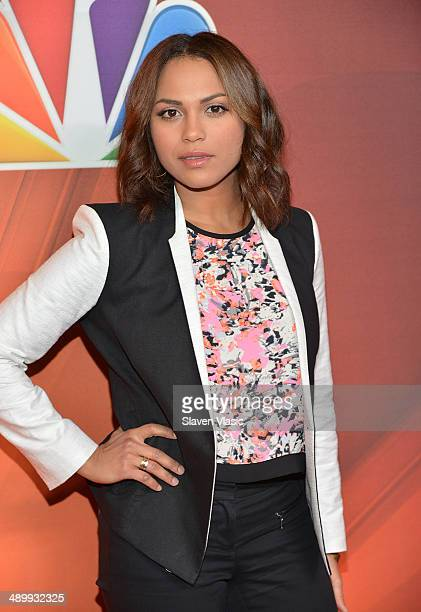 Monica Raymund attends the 2014 NBC Upfront Presentation at The Jacob K Javits Convention Center on May 12 2014 in New York City