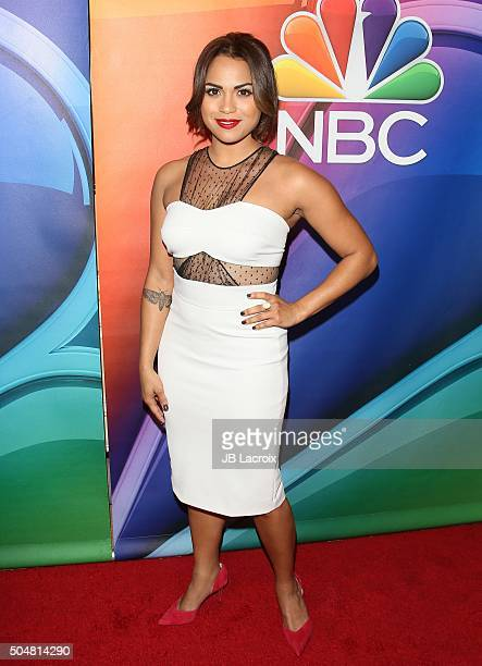 Monica Raymund attends the Winter TCA Tour NBCUniversal Press Tour at the Langham Huntington Hotel on January 13 2016 in Pasadena California