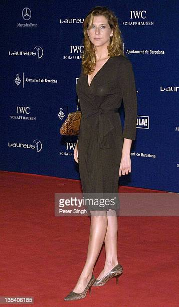 Monica Seles attends the Laureus World Sports Awards dinner at the Parc del Forum May 21 2006