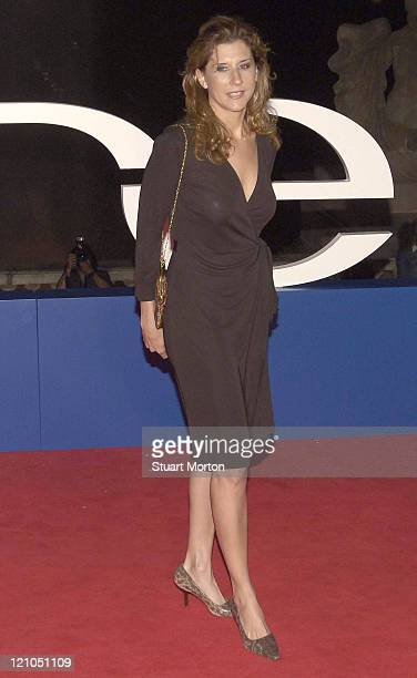 Monica Seles during 2006 Laureus Sports Awards Welcome Party Arrivals at Museu Nacional d'Art de Catalunya in Barcelona Spain