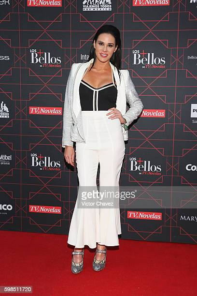 Monica Serrano attends Los Bellos de TvYNovelas 2016 at Bosque de Chapultepec on August 31 2016 in Mexico City Mexico