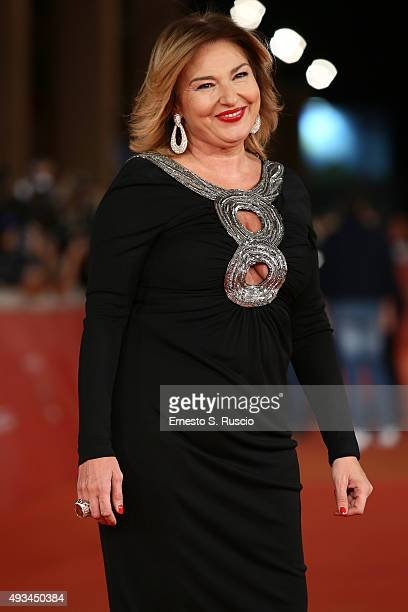 Monica Setta attends a red carpet for 'VilleMarie' during the 10th Rome Film Fest on October 20 2015 in Rome Italy